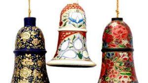 Hanging Bells – Paper Mache